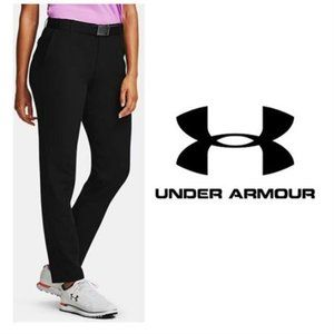 NWT- Under Armour Womens Black Golf Pants